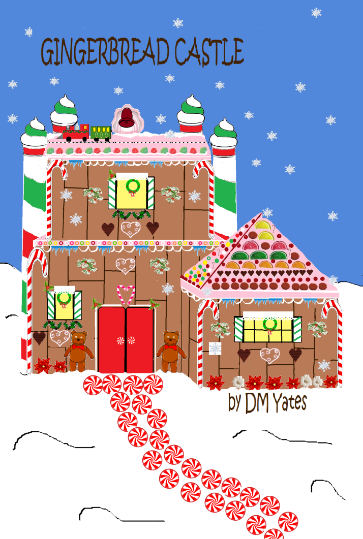 gc gingerbread castle w candies cover
